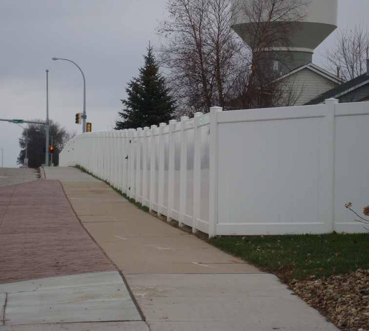AmeriFence Corporation Kansas City- Vinyl Fencing, White Vinyl Privacy AFC, SD