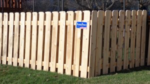 AmeriFence Corporation Kansas City - Wood Fencing, Board on Board - AFC-KC