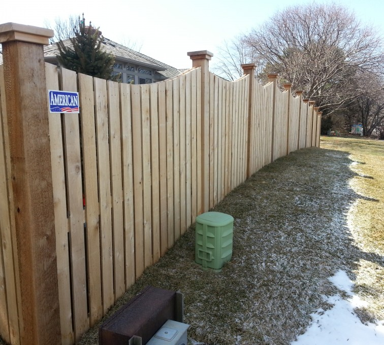 AmeriFence Corporation Kansas City - Wood Fencing, Custom Wood 9922 Devonshire