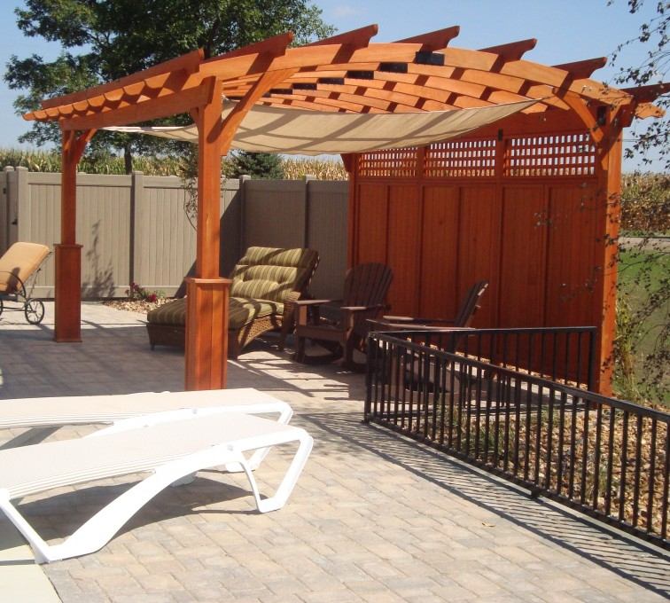 AmeriFence Corporation Kansas City - Wood Fencing, Custom Wood Arbor