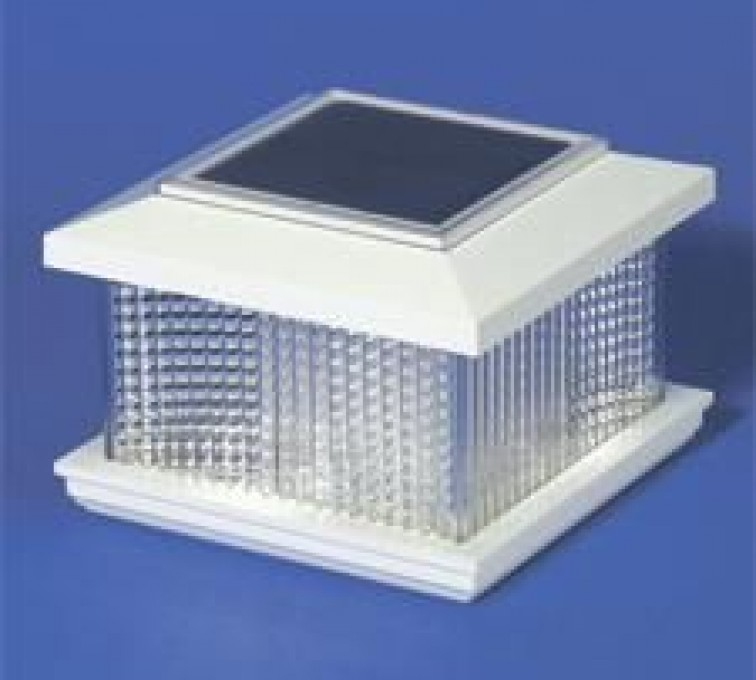 AmeriFence Corporation Kansas City - Accessories, Solar Cap Vinyl Posts